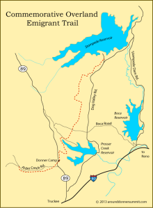 Overland Emigrant Trail Map