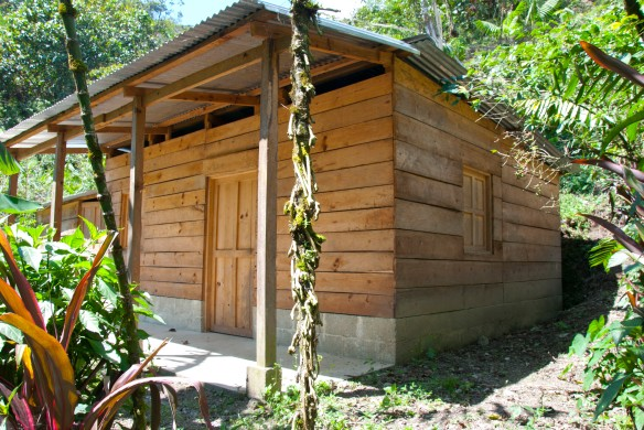 One of the completed Casitas