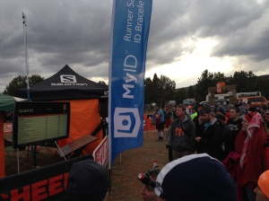 Everyone waiting to see their team pop up on the screen indicating their runner is 1/4 mile away