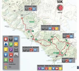 50k Course Map